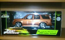 1:18 fast and furious Cadillac Escalade Orange Mega rare limited sold out