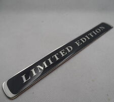 Car LIMITED EDITION Trunk Badge Chrome Emblem Sticker Black