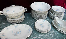 Partie de service de table Haviland torse Limoges @