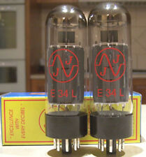 JJ Tesla E34L burned In Premium Tubes - Matched Pair (EL34)