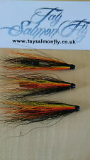 "3x Grainhead Special Willie Gunn 1.25"" Aluminium Tube Salmon Fishing Flies"