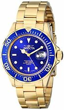 Invicta Men's Pro Diver Quartz 200m Gold Plated Stainless Steel Watch 9312