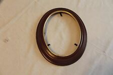 Van Hygan & Smythe Oval Walnut Picture Frame