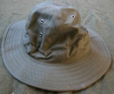 WWII US ARMY INFANTRY DARK SHADE TYPE II HBT DAISEY MAE JUNGLE HAT-SMALL