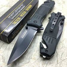 TAC-FORCE Spring Assisted Stainless Steel Hunting Folder Pocket Knife TF-434