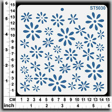 Stencils Templates Masks for Scrapooking, Cardmaking - Flowers ST5030