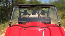2014-15 Yamaha 700 Viking Tinted Full Front Windshield- 1/4 Thick Polycarbonate!