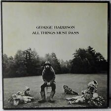George Harrison-All things must pass - 3 x vinyle ex | 3x LP, box set + poster