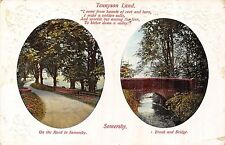 POSTCARD   LINCS   SOMERSBY   Tennyson  Land