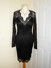 River Island Lace Wedding Evening Party Dress Size UK 8, EUR 34 Xmas New Year