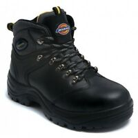 NEW Mens Dickies BERGEN Super Safety Boot Work Shoe Steel Toe Cap Mid Sole  6-12