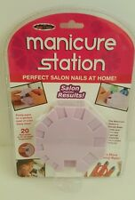 MANICURE STATION NEW PERFECT SALON NAILS AT HOME Seen On TV