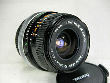 Optics Are MINT- Canon FD 28mm SC F 2.8 lens for AE1 A1 F1 AT1 AL1 T90 FTb AV1