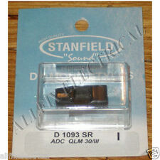 ADC QLM30-MkIII, QLM33-MkIII Compatible Turntable Stylus. Part No. D1093SR