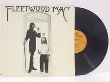 FLEETWOOD MAC ~ Self Titled LP ORIG Warner NM- w/ Lyric Poster TEXTURED COVER