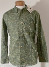 NWT Levis Mens Classic One Pocket L/S Shirt M Vineyard Green MSRP$68