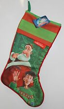 ARTHUR CHRISTMAS STOCKING Santa Holiday Decorations Animated Movie Cartoon NEW