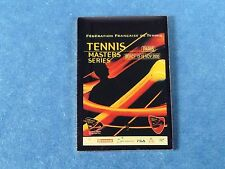 pins pin sport tennis open 2000 sponsor fila lacoste mercedes