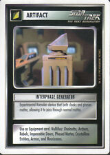 STAR TREK CCG WHITE BORDER PREMIERE 1995 BETA RARE CARD INTERPHASE GENERATOR