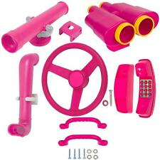 SWING SET STUFF DELUXE ACCESSORIES KIT PINK play fort accessory fun toy kid 0245