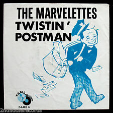 THE MARVELETTES-Twistin' Postman-Rare Northern Soul Picture Sleeve-TAMLA #54054