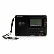 Portable Digital Tuning LCD Receiver TF MP3 REC Player AM&FM SW Full Band Radio