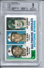 1982 Topps Baseball #21 Cal Ripken Rookie Card BGS 9