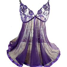 Little Purple Night Dress Plus Size Lingerie  5 XL Babydoll Nightie - Private