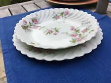 6 assiettes Haviland Porcelaine De Limoges Potage Entremet