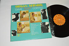 "DAVE ""BABY"" CORTEZ Organ Shindig LP Roulette Records Canada R-25298 Mono VG/NM"