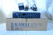 KAWAI XS-1 16bit SYNTHESIZER MODULE w/ box Rack version of KC10