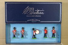 BRITAINS 00090 SCOTS GUARDS DRUM & BUGLE SET MINT BOXED na