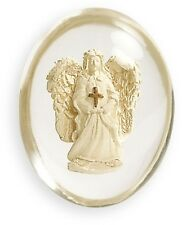 Angel with Cross Comfort Pocket Stone by AngelStar NEW  SKU 8746