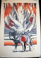 Game of Thrones King of the North Tyrion Jon Snow art print poster wolf tree