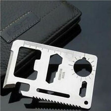 Multifunction Outdoor Survival Pocket Military Credit Card Cutter Camping Tools