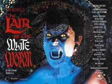 Lair Of White Worm Poster 02 Metal Sign A4 12x8 Aluminium