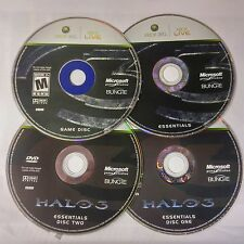 Halo 3 (4 DISC SET)(Microsoft Xbox 360, 2007)(DISC'S ONLY) #9300