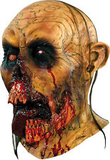 Halloween LifeSize Costume ZOMBIE TONGUE DELUXE MASK Haunted House NEW
