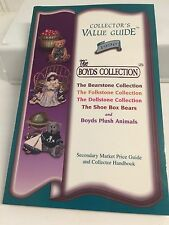 BOYD'S  ~COLLECTORS VALUE GUIDE Book 1996 All Bearstone and other Collections