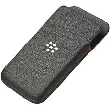 GENUINE BLACKBERRY Q20 CLASSIC LEATHER POCKET CASE COVER POUCH ACC-60087-001