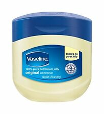 Vaseline 100% Pure Petroleum Jelly Skin Protectant Minor Cuts & Burns 1.75 Oz