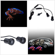 Car SUV Door LED Light 3D Spiderman Crawling Shadow Logo Welcome Laser Projector