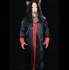 Deluxe Saw Pig Official Saw Movie Mask & Robe Adult Halloween Costume