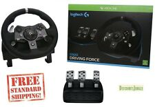 Logitech G920 Xbox Driving Force Racing Wheel and Pedals for Xbox One and PC New