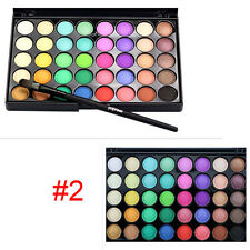 40 Colors Eye Shadow Makeup Cosmetic Shimmer Matte Luminous Eyeshadow Palette #2