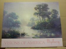 Visions of America by Dalhart Windberg Water Lily pads cattails Open Edition