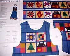 PATCHWORK JUMPER Quilt Square Motif Dress Cut Sew  XS-L Cranston Dreamspinners