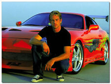 Fast and Furious Paul Walker Movie Art Silk Poster 24x36inch