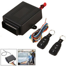 Vehicle Car Remote Control Central Door Lock Kit Locking Keyless Entry System