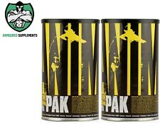 2 x Universal Nutrition Animal Pak Multivitamin | Cuts | Anavite | Orange Triad